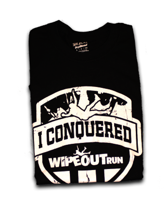 i conquered shirt black